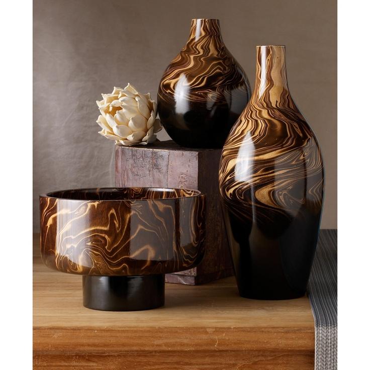 Mango Wood Vases