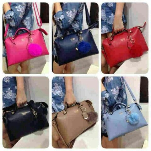 ready Fendi by the way semipremium 32x11x20/ red-black-blue-moca-light blue-fuschia