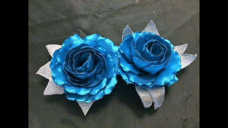 D.I.Y. Handmade Satin Rose