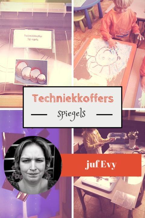 Techniekkoffers van juf Evy - spiegels - Lespakket