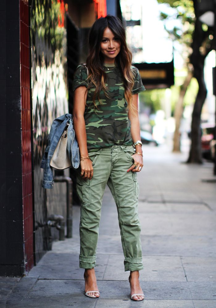 Innovative Street Style Military Pants And Army Trousers For Women 5