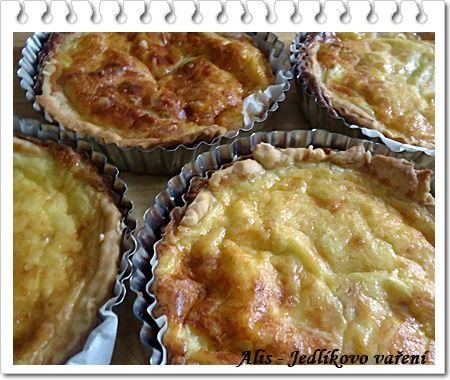 Jedlíkovo vaření: Mini quiche - domácí slaný koláč se šunkovo-sýrovou náplní