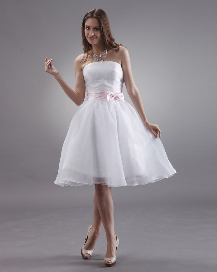 white-bridesmaid-dresses-