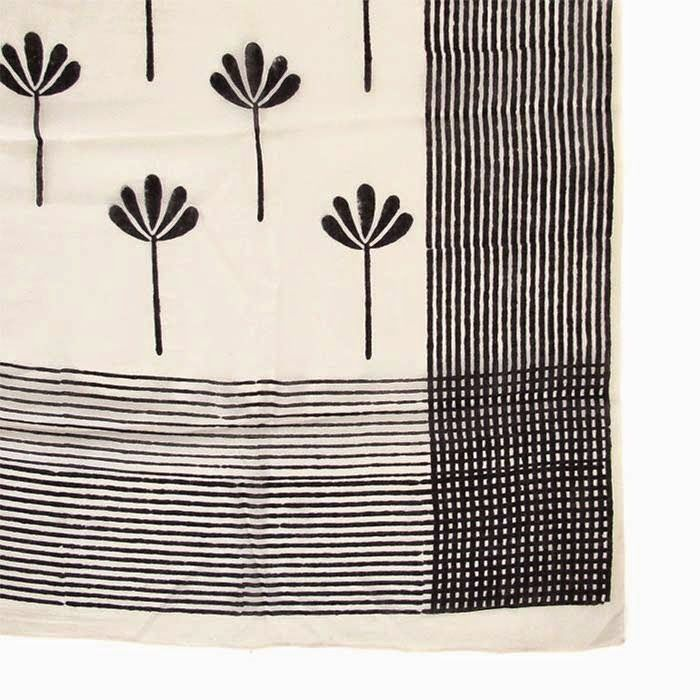 Poppytalk: Dispatch from S. Africa | New Block Printed Scarves from Skinny Laminx
