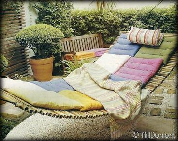 Vila Dumont: Artesanato Natural – Rede de Bambu