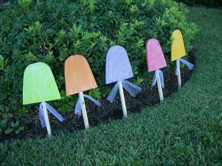 Gumdrop Candy Set Yard Art Christmas By Wildewoodtreasures