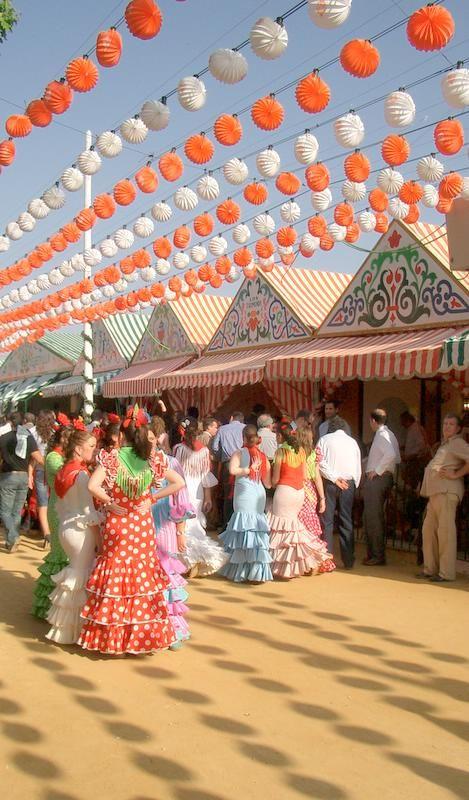 Feria de Abril, Sevilla, Andalucía, Spain