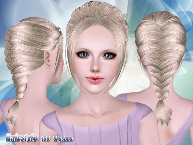 Hairstyles Braids Download: 23 Best Victorian Sims3 Hair Images On Pinterest