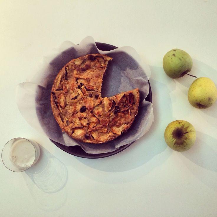 Vegan apple pie.