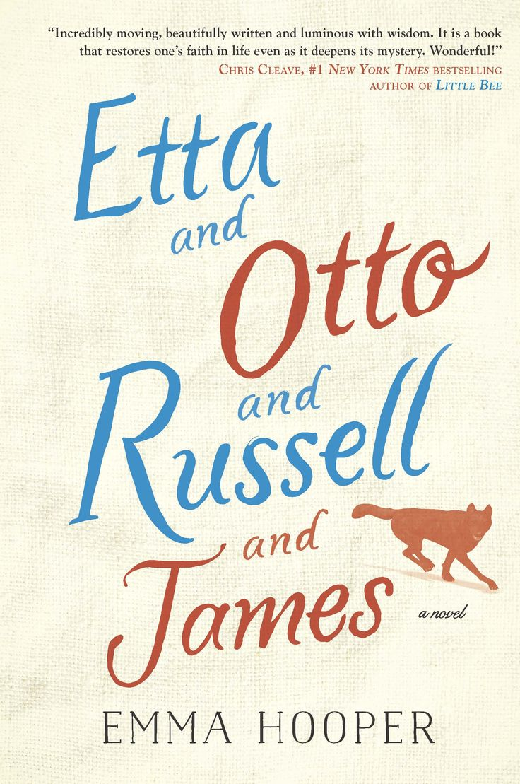Etta & Otto & Russell & James by Emma Hooper (Hamish Hamilton) #CanLit