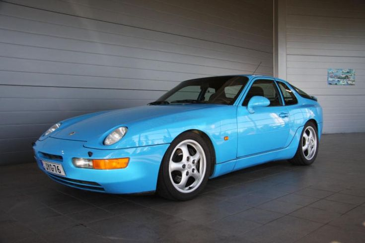 A very nice color on a Porsche 968. There were only 12776 of the 968's ever made, so if you happen to buy one, keep it. It's going to be a really great investment. Especially if you find a Turbo S.
