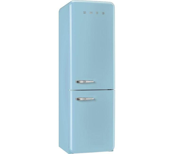 SMEG FAB32RNA Fridge Freezer - Pastel Blue