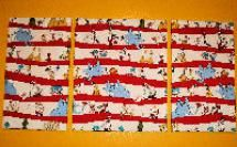 Activities and Crafts Featuring Doctor Seuss Book Characters: Dr. Seuss Fabric Wall Hanging Pattern