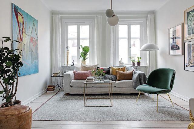Apartamento inspirador estilo nórdico