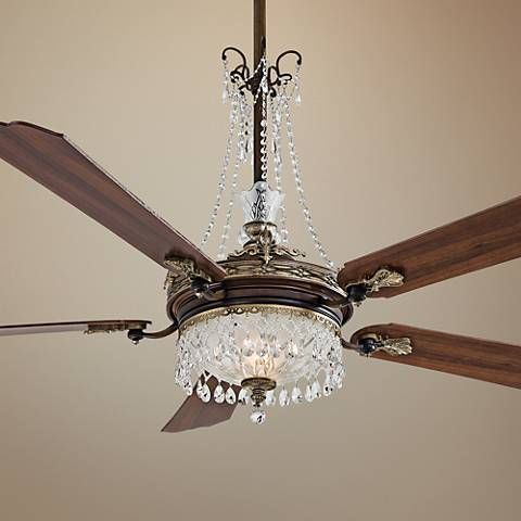 68 Cristafano Belcaro Walnut Ceiling Fan