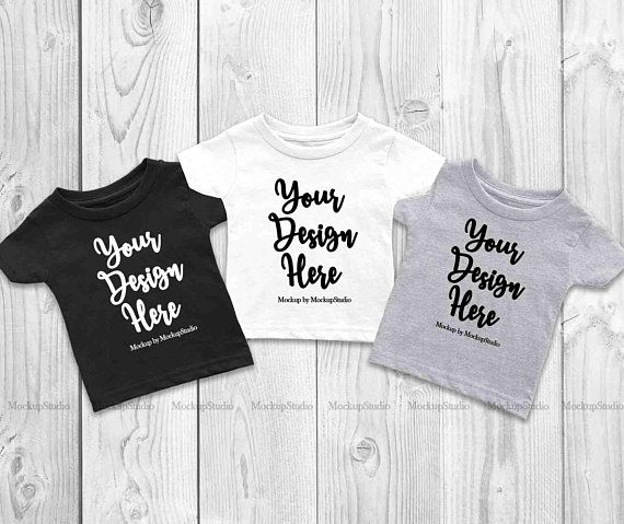 Download Free 3 Colors Infant T Shirts Mockup Baby Group Cousins Siblings Psd Free Psd Mockups Shirt Mockup Design Mockup Free Tshirt Mockup