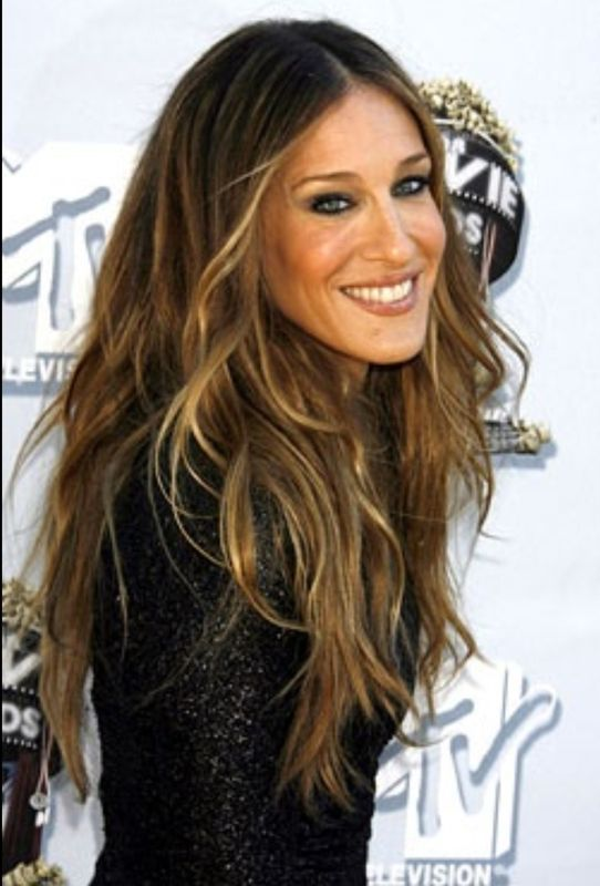 Sarah Jessica Parker , Im in love with this hair trendI think I