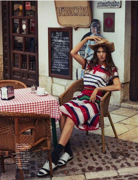 Jessica Miller Elle Spain Magazine March 2016