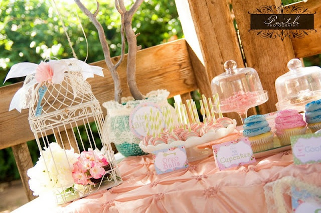 {Party Feature} Secret Garden Birthday Party | That Cute Little Cake