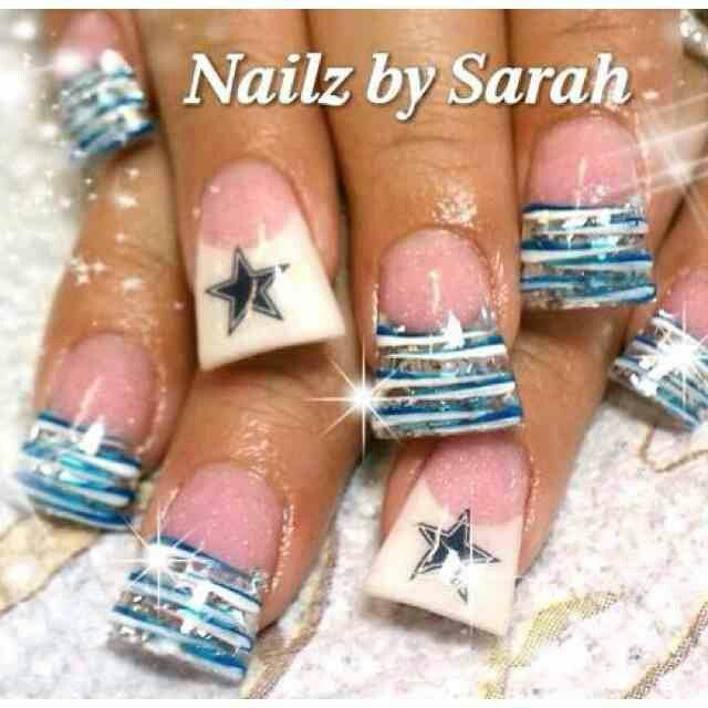 54 best dallas cowboys ideas images on pinterest cowboy baby dallas cowboys nails prinsesfo Gallery