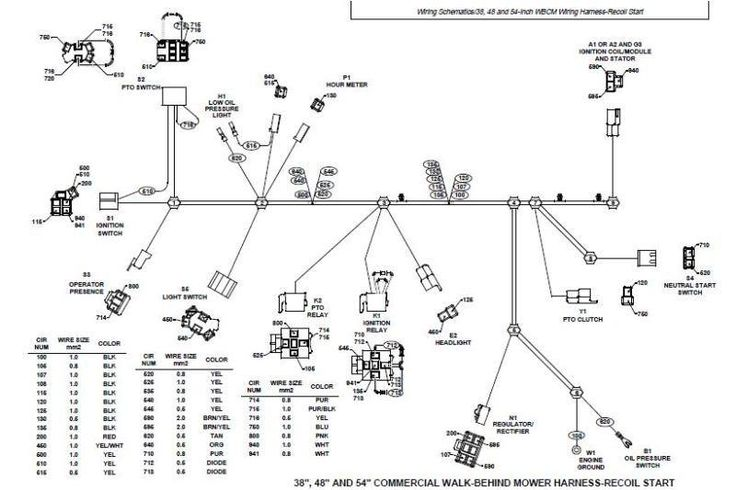 wiring diagram for john deere x540