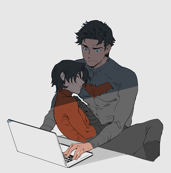 Jason Todd and Tim Drake. Finally! I mean I love the Dick and Damian broship but this is important too!