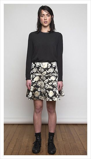 maxwell blouse & valentine skirt | winter 2014 collection | juliette hogan