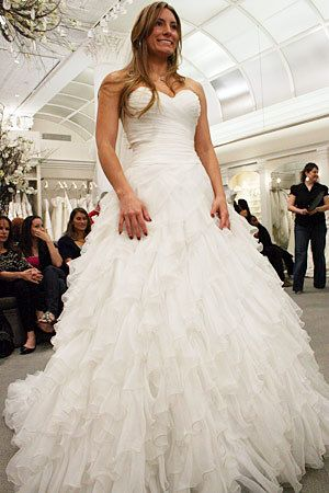 Carli Wells Price: $2300 Designer: Sophia Moncelli for Kleinfeld Kollection