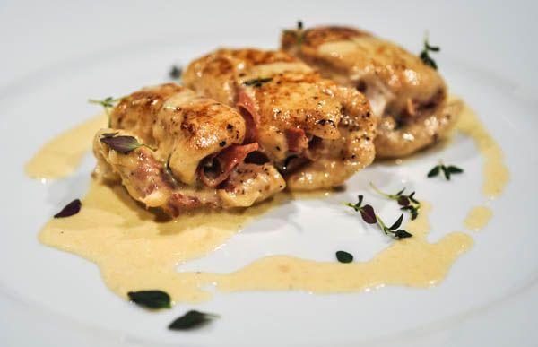 Kycklingrullader med Serranoskinka | Linas Kök