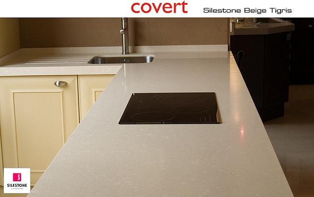 Encimera covert de Silestone Beige Tigris | House and Kitchens