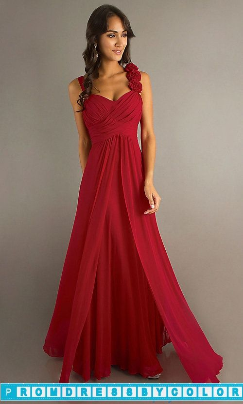 $170 Red Prom Dresses - Long Formal Dress for Prom at www.promdressbycolor.com #Red Prom Dresses