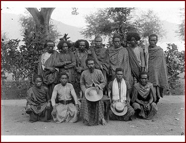 Men from Lewotara - Flores island Nusa Tenggara