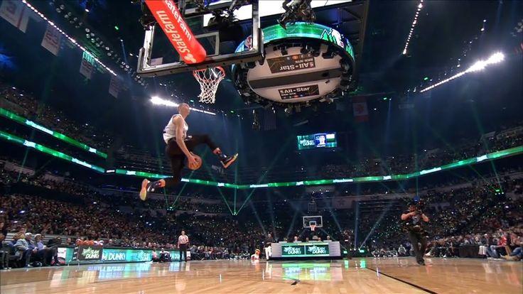 "!Zach LaVine ""Space Jam"" Dunk - 2015 NBA Dunk Contest"