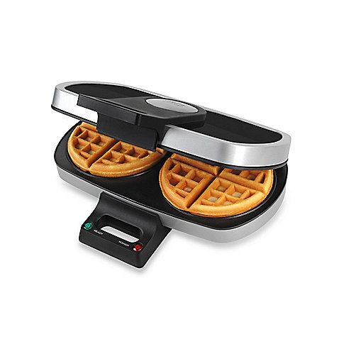 Bed Bath and Beyond: TRU Dual Round Belgian Waffle Maker