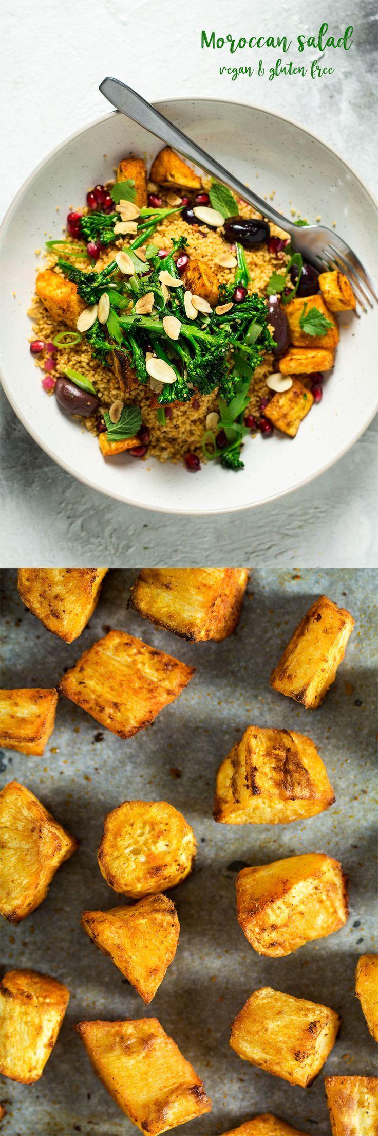 #salad #moroccan #healthy #vegan #dairyfree #vegetarian #glutenfree #lunch #entree