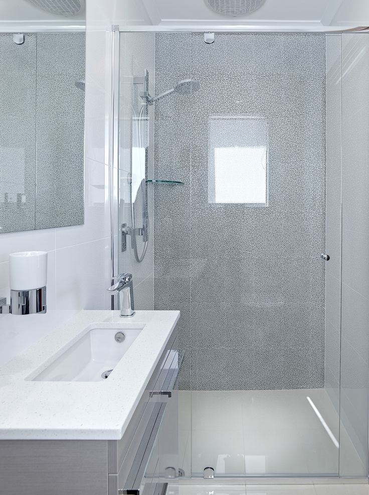 Elegant U0026 Stylish Compact Ensuite Still Easily Fits A Vanity, Shower And  Toilet Without Being
