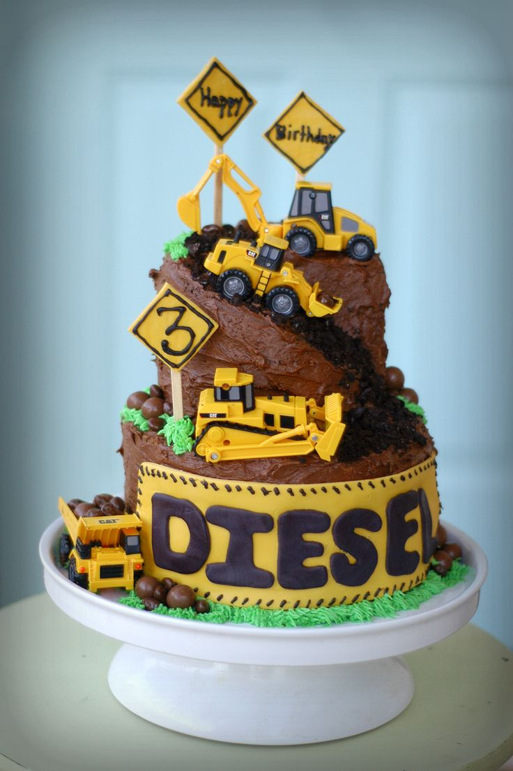 construction cake....like the downhill effect and the name can go across bottom