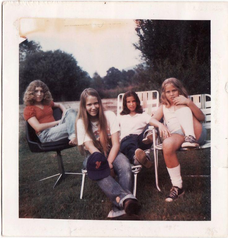 Polaroid Prints of Teen Girls in the 1970s