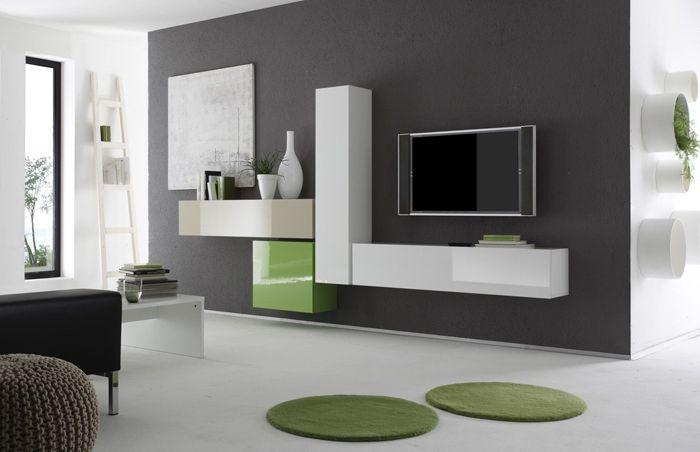 Element 213 nábytková sestava, obývací pokoj, moderní interiér, minimalistický styl / living room furniture