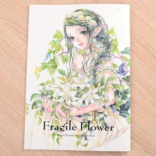 "Izmi Toyoda Illustration Collection ""Fragile Flower"""