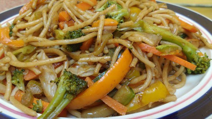Espagueti chino