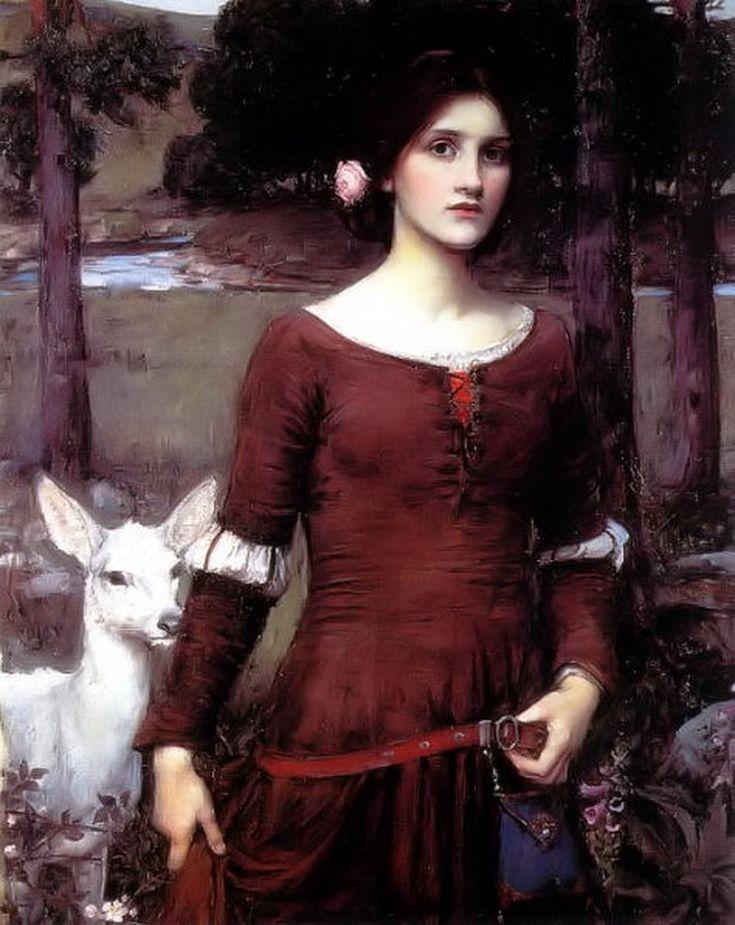 The Lady Clare John William Waterhouse
