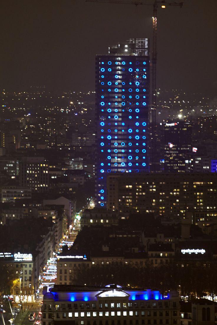 La tour Incity fête les Lumières