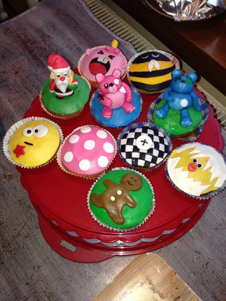 Zelfgemaakte cupcakes!