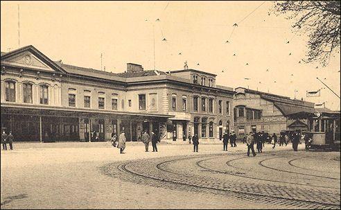Centraal Station Utrecht in 1916