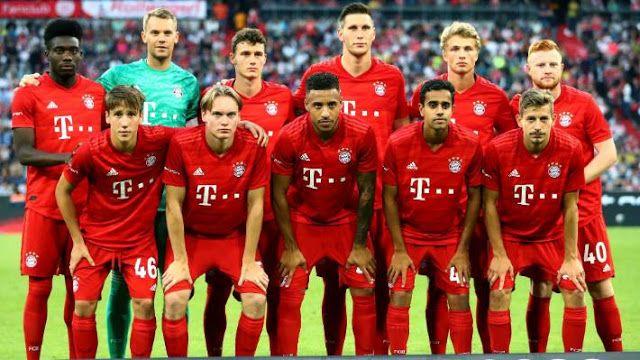 Global Sport 10 Bayern Munich Players 2020