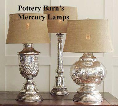 Pottery Barn Style Mercury Glass Tutorial