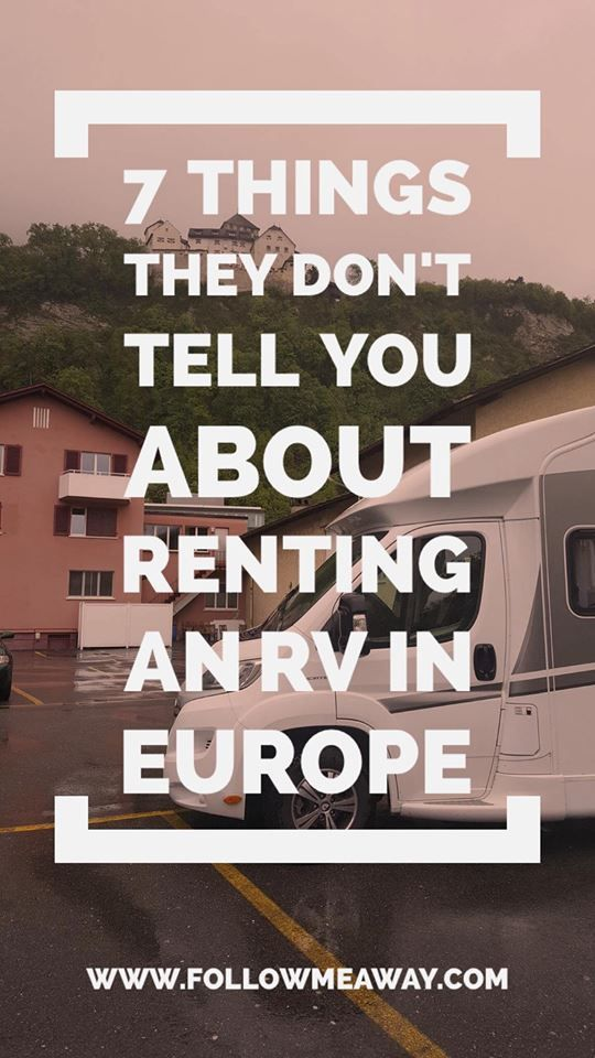 travel tips renting europe