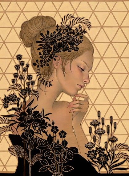Artist Audrey Kawasaki: so much amazing work that would (and does) make amazing tattoos!  — pinterest.com