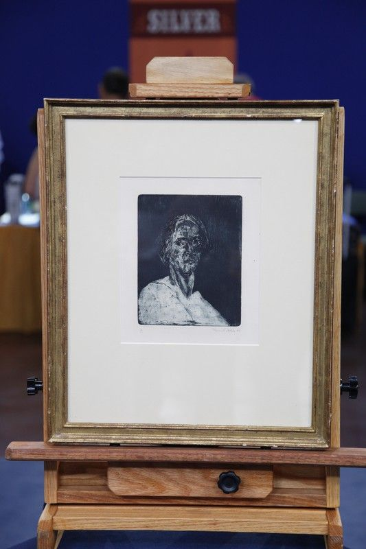1906 Emil Nolde Etching  $10,000 Auction  –  $15,000 Auction / click to watch appraisal on antiques roadshow